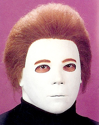 michael myers mask with hair price: $34.99